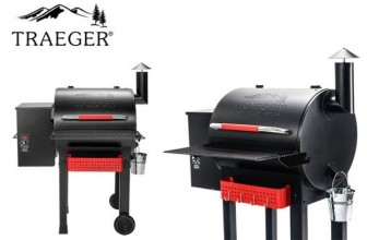 Traeger Renegade Elite Wood Pellet Grill and Smoker
