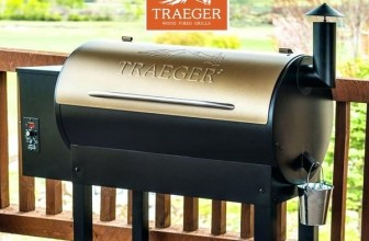 Traeger TFLZBCB Wood Pellet Grill and Smoker