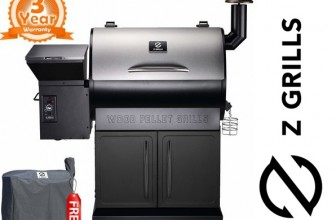 Z Grills ZPG -7002E Pellet Grill and Smoker