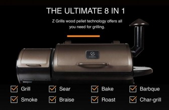 Z Grills ZPG-450A 2019 Upgrade Model Wood Pellet Grill