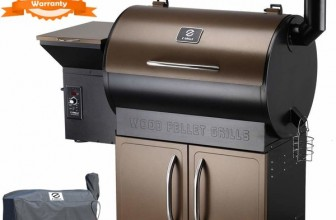 Z Grills ZPG 700D 2018 Upgrade Wood Pellet Smoker